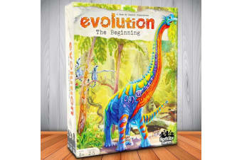 Evolution: The Beginning Family Strategy Educational Card Game
