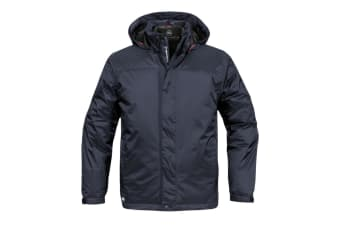Stormtech Mens Ripstop Insulated Shell Jacket (Waterproof And Breathable) (Navy/Granite)