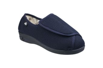 Mirak Celia Ruiz 300 Wide Fit Summer / Womens Shoes (Navy) (5 UK)