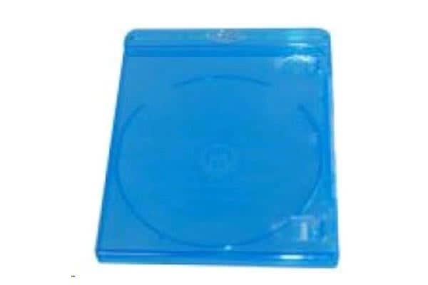 Imatech Blu-Ray  12mm  Single DVD Case with Clear Film Cover