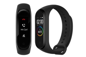 "Select Mall Compatible with 0.95"" 3 Color AMOLED Screen Smart Bracelet Smartband Sleep Monitor Fitness Tracker"