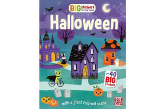 Big Stickers for Tiny Hands: Halloween - With scenes, activities and a giant fold-out picture