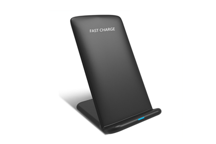 Wireless Charger Pad For Samsung And Standard Charge For Apple Iphone X / 8 / 8 Plus Black