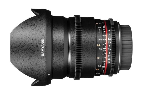 Samyang 16mm T/2.2 ED AS UMC CS Lens (Canon Mount)