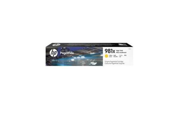 HP 981X YELLOW ORIGINAL PAGEWIDE CRTG