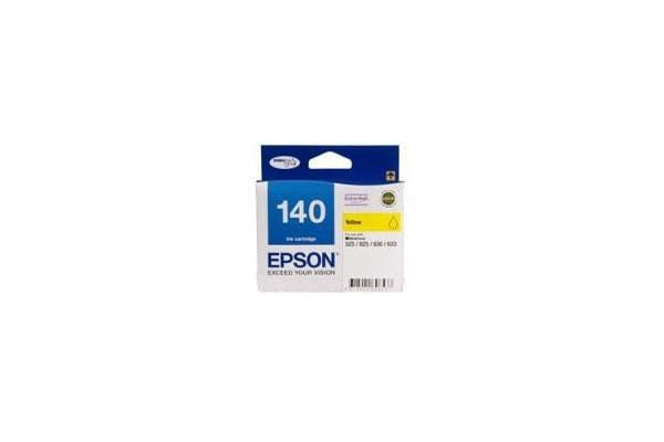 EPSON 140 Extra High Capacity Yellow Ink Cartridge For Workforce 60 625 630 633 840