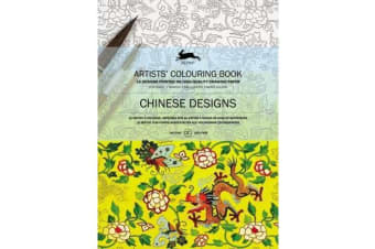 Chinese Designs - Artists' Colouring Book