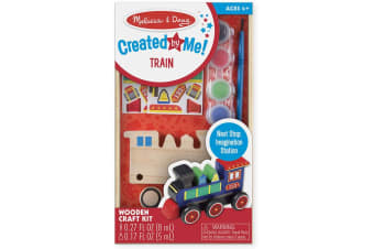 Melissa and Doug Created by Me Wooden Train Kit
