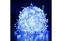Xmas Icicle 800 LED - BLUE WHITE