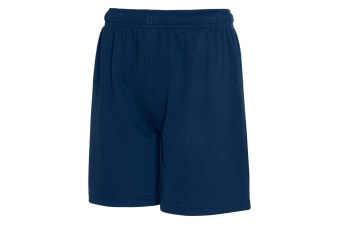 Fruit Of The Loom Childrens/Kids Moisture Wicking Performance Shorts (Deep Navy) (14-15 Years)
