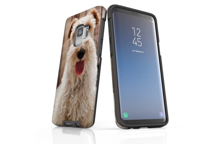 For Samsung Galaxy S9 Case Armour Cover  Tongued Out Wire Haired Foxy