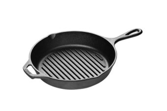 Lodge Cast Iron Grill Pan 27cm