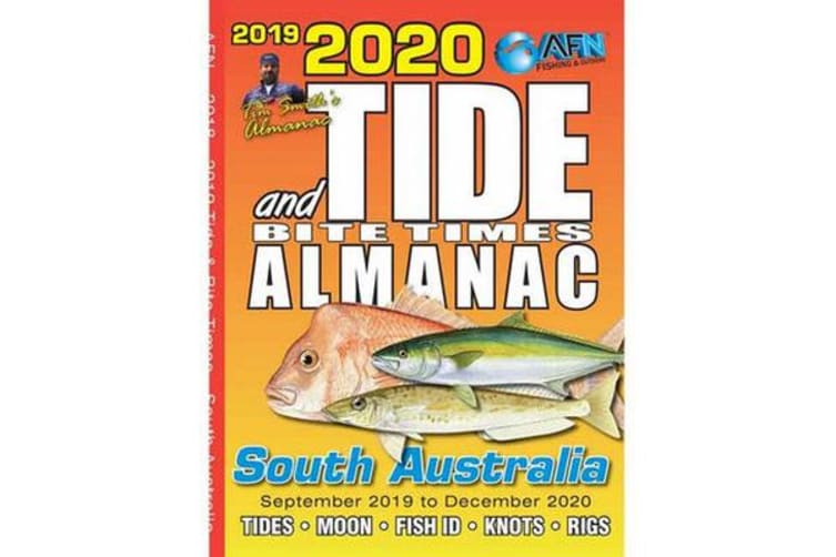 2020 Tide and Bite Times Almanac SA