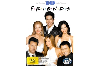 F.R.I.E.N.D.S S Season 10 -Comedy Series Region 4 Rare- Aus Stock Preowned DVD: DISC LIKE NEW