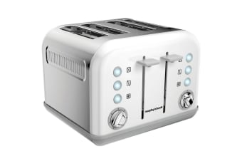 Morphy Richards Accents 4 Slice Toaster - White (242021)