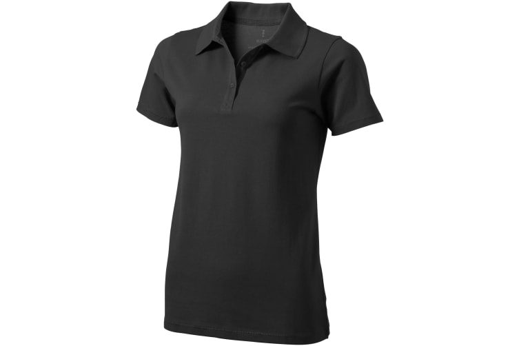 Elevate Seller Short Sleeve Ladies Polo (Anthracite) (M)