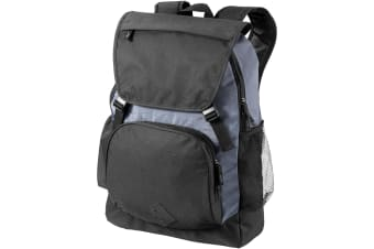 Bullet Wellington 17in Laptop Backpack (Solid Black/Grey) (35 x 16.5 x 47.7 cm)