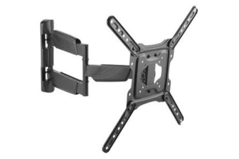 "Black Dot 23"" - 55"" TV Wall Bracket with Tilt and Swivel- Tested in New Zealand to AS/NZ Standards-"