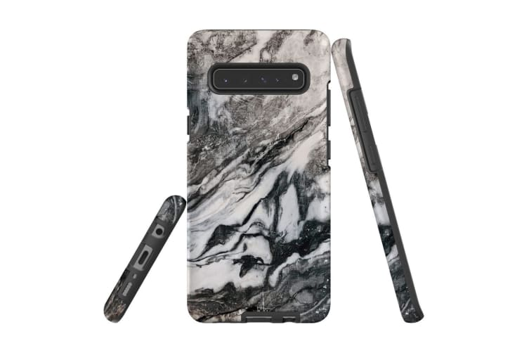 For Samsung Galaxy S10 5G Case  Armour Tough Cover  Marbled