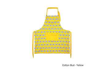 Cotton Bud Apron Yellow by IDC Homewares