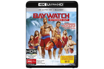 Baywatch 4K Ultra HD Blu-ray UHD Region B