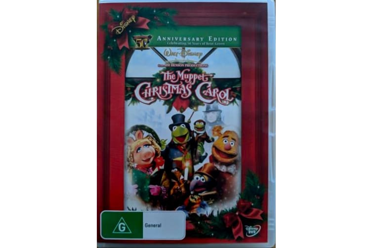 The Muppet Christmas Carol -Kids Region 4 Rare- Aus Stock DVD PREOWNED: DISC LIKE NEW