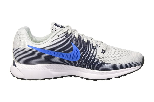 ac6beaebd52 Nike Men s Air Zoom Pegasus 34 Running Shoe (Pure Platinum Thunder Blue