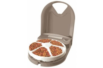 Eatwell 5 Meal Automatic Pet Feeder for Dogs & Cats (PFD11-13707)