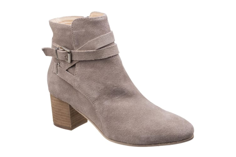 Divaz Womens/Ladies Arianna Ankle Boot With Heels (Taupe) (5 UK)
