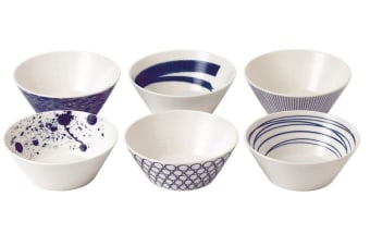 Royal Doulton Pacific Set of 6 Cereal Bowls 16cm