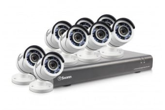 Swann 16 Channel 1080p 2TB DVR with 8 x PRO-T853 Cameras (SWDVK-164558)