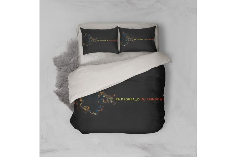 3D Band Radiohead Quilt Cover Set Bedding Set Pillowcases 73-Single