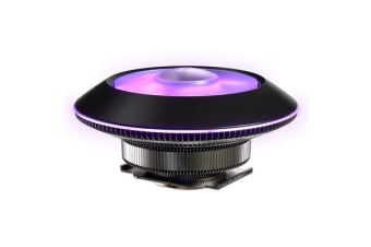 Cooler Master MasterAir G100M CPU Cooler Low Profile with 92mm RGB PWM Fan