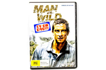 Man vs Wild with Bear Grylls - Forces of Nature -Educational Series DVD NEW