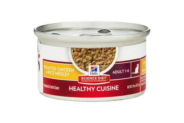 Hills Science Diet Adult Roasted Chicken Rice Medley - 1 Can