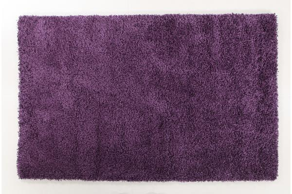 Thick Soft Polar Shag Rug - Plum 150x80cm