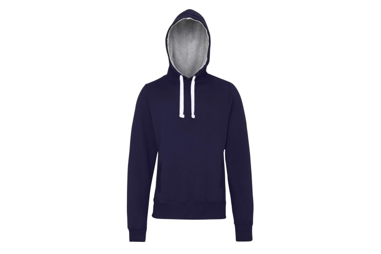 AWDis Just Hoods Mens Chunky Pullover Hoodie (Oxford Navy) (L)