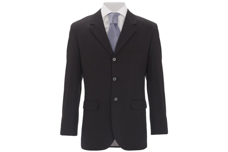 Alexandra Mens Icona Formal Classic Fit Work Suit Jacket (Black) (48R)