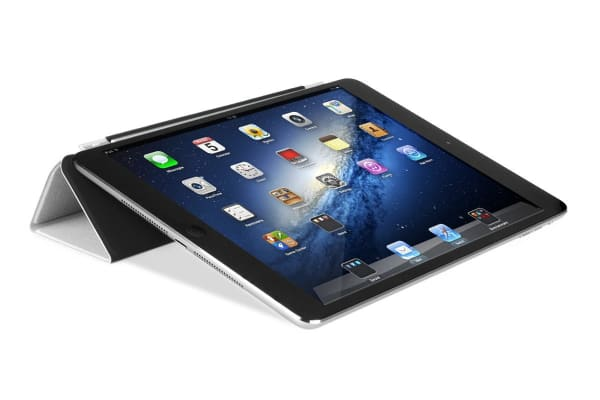 Magnetic Clever Cover with Sleep Function for iPad Mini (Black)