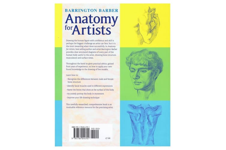 Anatomy For Artists - A Complete Guide To Drawing The Human Body