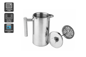 Ovela Stainless Steel Double Wall Coffee Plunger 350ML