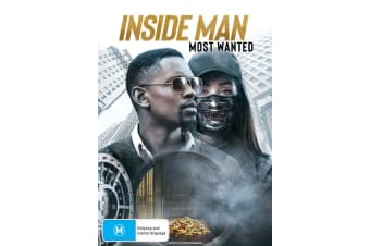 Inside Man Most Wanted DVD Region 4