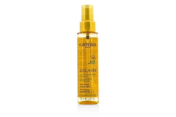 Rene Furterer Solaire Waterproof KPF 90 Protective Summer Oil - Shiny Effect (High Protection For Hair Exposed To The Sun) (100ml/3.38oz)