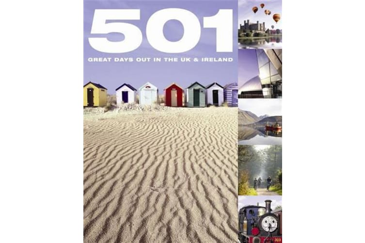 501 Days Out In The Uk, By David Brown ,Jackum Brown and Arthur Findlay