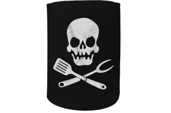 123t Stubby Holder - previews cooking skull - Funny Novelty