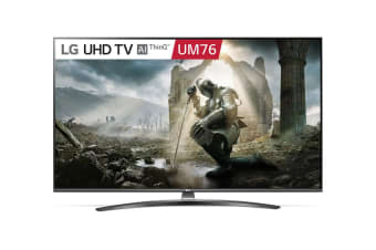 "LG UM76 Series 55"" 4K Ultra HD ThinkQ AI Smart LED TV"