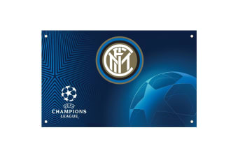 FC Inter Milan Champions League Flag (Blue) (One Size)