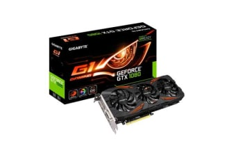 Gigabyte nVidia GeForce GTX 1060 G1 Gaming 6GB PCIe Video Card 7680x4320 @ 60Hz 3xDP HDMI DVI VR Ready 1683/1506 MHz