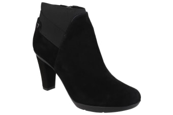 Geox Womens/Ladies Inspiration Pull On Ankle Boots (Black)