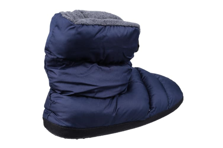 Cotswold Childrens/Kids Camping Adjustable Slipper Boots (Navy) (Large)